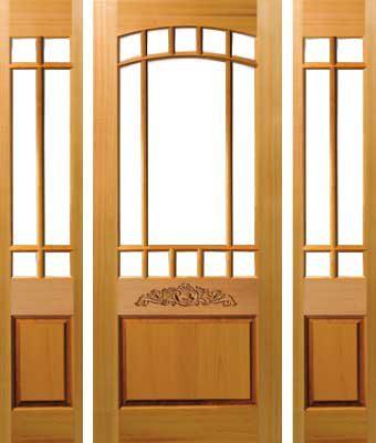 Glasdörrar