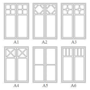 Gammaldags fönster