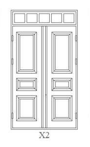 Gammaldags dörrar